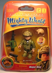 Mighty World 8544 Major Mac Titanworks, Mighty World, Action Figures, 2009, adventure