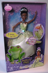 Disney The Princess and the Frog - Tiana doll Mattel, Disney, Dolls, 2009, fantasy, movie