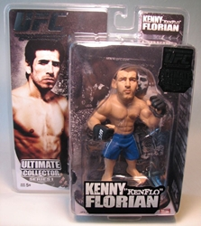 UFC Series 1 Kenny KenFlo Floridian 5.75 inch fig Round 5, UFC, Wrestling, 2009, warriors, pro league