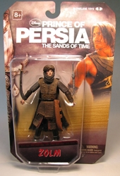 McFarlane Prince of Persia 4 inch  Zolm McFarlane, Prince of Persia, Action Figures, 2010, fantasy, adventure, movie