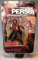 McFarlane Prince of Persia 6 inch  Prince Dastan Target McFarlane, Prince of Persia, Action Figures, 2010, fantasy, adventure, movie