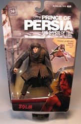 McFarlane Prince of Persia 6 inch Zolm McFarlane, Prince of Persia, Action Figures, 2010, fantasy, adventure, movie