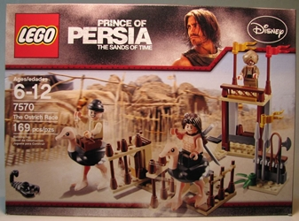 Lego 7570 Prince of Persia - The Ostrich Race (3 figs) Lego, Prince of Persia, Legos & Mega Bloks, 2010, fantasy, adventure, movie