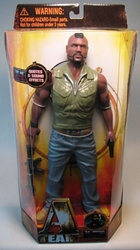 A-Team 13 inch figure - Sgt Bad Attitude Baracus -talks Jazwares, A-Team, Action Figures, 2010, action, adventure, movie