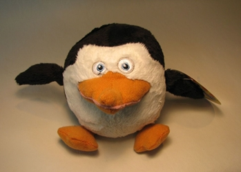 The Penguins of Madagascar 5 inch plush - Penguin Hooga Loo, The Penguins of Madagascar, Plush, 2009, animated, movie