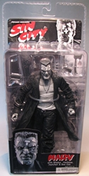 NECA Sin City Ser 1 Marv band-aids B/W (Mickey Rourke) NECA, Sin City, Action Figures, 2005, crime, comic book