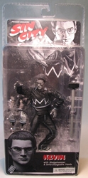 NECA Sin City Ser 2 B/W Kevin (Elijah Wood) NECA, Sin City, Action Figures, 2005, crime, comic book
