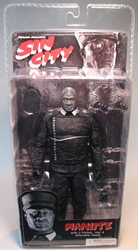 NECA Sin City Ser 1 Manute B/W  (Michael C Duncan) NECA, Sin City, Action Figures, 2005, crime, comic book