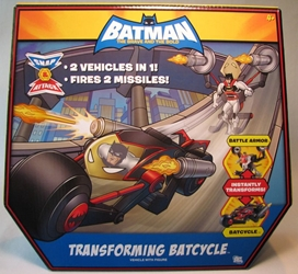 Batman Brave and Bold - Transforming Batcycle Mattel, Batman, Action Figures, 2009, superhero, comic book