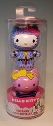 Hello Kitty Designer 2.5 inch figs 2-pack: bedtime! Jakks / Sanrio, Hello Kitty, Action Figures, 2009, animated, japan