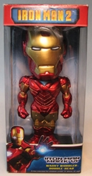 Funko Wacky Wobbler Iron Man 2  Iron Man Mark VI (red) Funko, Iron Man, Bobble-Heads, 2010, scifi, movie