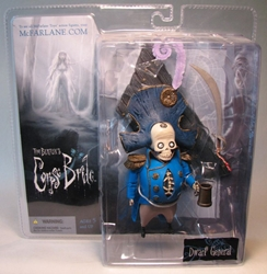 Corpse Bride - Dwarf General  McFarlane, Corpse Bride, Action Figures, 2005, animated, movie