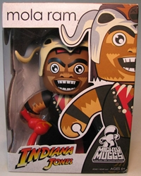 Indiana Jones Mighty Muggs 6.5 inch Mola Ram Hasbro, Indiana Jones, Action Figures, 2008, adventure, movie