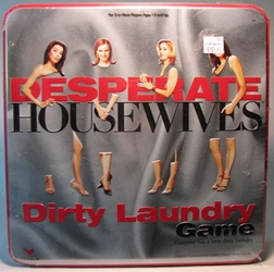 Desperate Housewives - Dirty Laundry Game in Tin box Cardinal, Desperate Housewives, Games, 2005, family, tv show