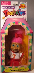 Trollkins 5 inch Cheerleader 1998  The Original San Francisco Toymakers, Trollkins, Action Figures, 1998, fantasy, animated