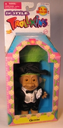 Trollkins 5 inch Groom 1998 The Original San Francisco Toymakers, Trollkins, Action Figures, 1998, fantasy, animated
