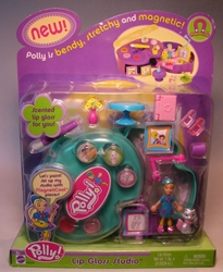 Polly Pocket Lip Gloss Studio 2003 Mattel, Polly Pocket, Dolls, 2003, girls