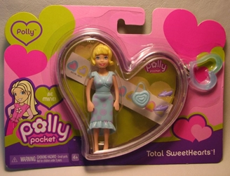 Polly Pocket Total Sweethearts! 3.5 inch Polly 2006 Mattel, Polly Pocket, Dolls, 2006, girls
