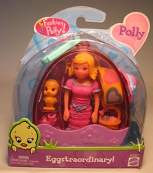 Polly Pocket Fashion Polly! Eggstraordinary! Polly Mattel, Polly Pocket, Dolls, 2002, girls
