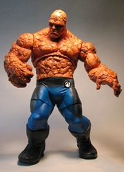 Fantastic Four The Thing 12 inch figure LOOSE Toy Biz / Marvel Ent, Fantastic Four, Action Figures, 2005, scifi, movie