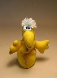 Rumpus  4.5 inch plush Eggel Yellow LOOSE 1997