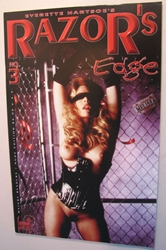 London Night  Comic Adult Cover - Razors Edge 3 London Night, Razor, Comic Books, 1999, bad girl, girls, comic book