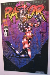 London Night  Comic - Razor #7 London Night, Razor, Comic Books, 1994, bad girl, girls, comic book