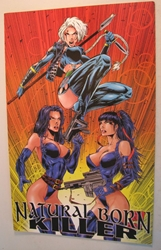 London Night  Comic - Lethal Stryke Double Impact London Night, Lethal Stryke, Comic Books, 1996, sexy, girls
