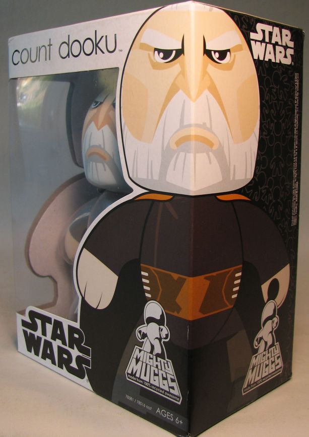 Mighty Muggs 6 inch Vinyl fig: Star Wars - Count Dooku - 6-4222CCCFAM