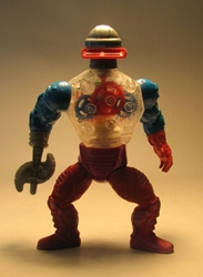 Masters of the Universe -  Roboto 1985 LOOSE Mattel, Masters of the Universe, Action Figures, 1985, fantasy, cartoon