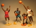 Kenner Starting Lineup NBA Basketball 4 fig lot LOOSE - 2613-687CCCFVG