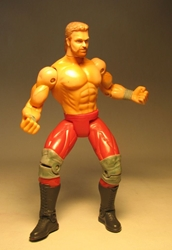 Toy Biz WCW figure Ring Fighters Chris Benoit LOOSE Toy Biz, WCW, Action Figures, 1999, wrestling