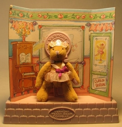 Vermont Teddy Bear Co Pocket Collection 3 inch Ballerina Bear LOOSE Tyco, Vermont Teddy Bear Co, Plush, 1995, family