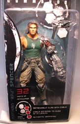 NECA Bionic Commando  7 inch fig - Nathan Rad Spencer NECA, Bionic Commando, Action Figures, 2009, scifi, video game