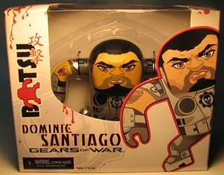 NECA Gears of War 4.5 inch Batsu Dominic Santiago NECA, Gears of War, Action Figures, 2009, scifi, video game