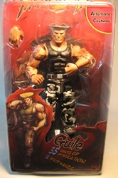NECA Street Fighter IV - Guile (grey camo pants) 7 inch NECA, Street Fighter, Action Figures, 2009, warriors, video game