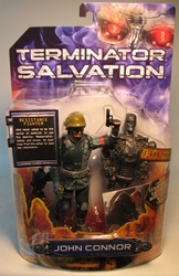 Terminator Salvation 6 inch John Connor(w trading card) Playmates, Terminator, Action Figures, 2009, scifi, movie