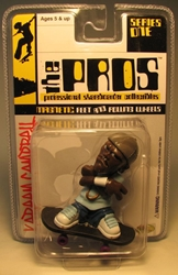 The Pros Skateboarder 2.5 inch fig - Kareem Campbell  Toy Zone, The Pros, Action Figures, 2003, sports