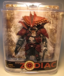 McFarlane Warriors of the Zodiac - Cancer McFarlane, Warriors of the Zodiac, Action Figures, 2008, astrology
