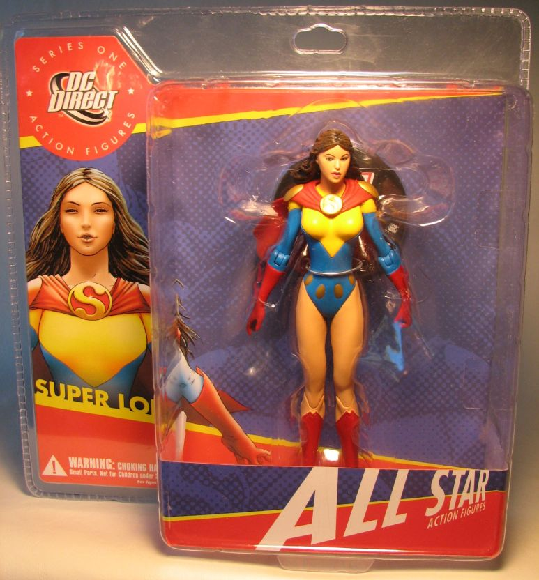 DC Direct All Star - Super Lois 6.5 inch figure SEXY DC Direct, DC, Action Figures, 2008, superhero, comic book