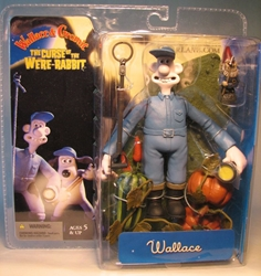 McFarlane Wallace and Gromit Were-Rabbit - Wallace  McFarlane, Wallace and Gromit, Action Figures, 2005, animated, movie
