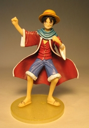One Piece Bandai Styling Star Hero 5 inch Luffy Bandai, One Piece, Anime Figures, 2010, anime, japan