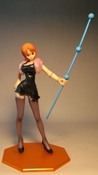 One Piece POP Nami sexy black dress 8 inch LOOSE China, One Piece, Anime Figures, 2010, anime, japan