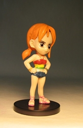 One Piece Banpresto Strong World 3 inch SD Nami Banpresto, One Piece, Anime Figures, 2009, anime, japan