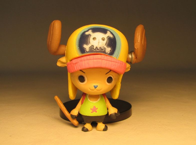 One Piece Banpresto Strong World 3 inch SD Chopper Banpresto, One Piece, Anime Figures, 2009, anime, japan