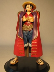 One Piece Banpresto Grandline Men Vol 3 Luffy w Coat  Banpresto, One Piece, Anime Figures, 2010, anime, japan