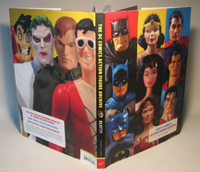 The DC Comics Action Figure Archive Chronicle Books, DC Comics, Books, 2007, superhero, comic book