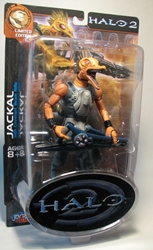 Halo 2 Jackal 8 inch figure by Joyride Joyride, Halo, Action Figures, 2006, scifi, video game