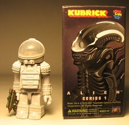 Medicom Kubrick Alien Series 1 - Nostromo Suit Ripley Medicom, Alien, Action Figures, 2007, scifi, movie