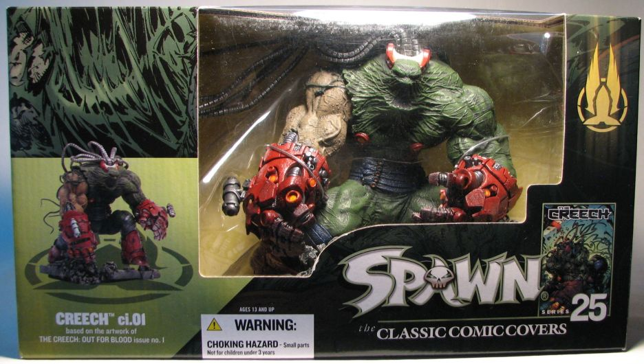 McFarlane Spawn 25 Classic Covers  - Creech ci.01 Dlx  McFarlane, Spawn, Action Figures, 2004, superhero, comic book